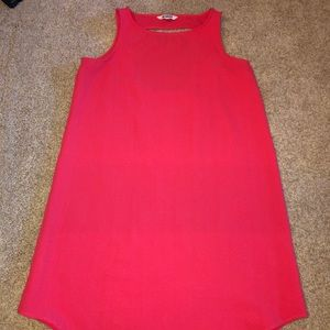 BB Dakota Pink Shift Dress